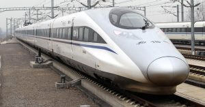 влак Китай