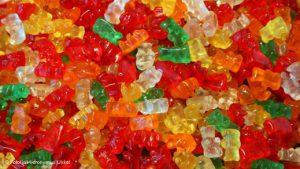желирани бонбони