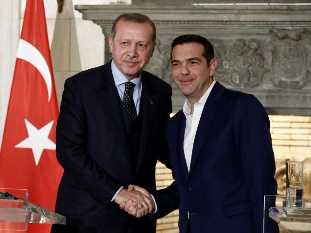 Ердоган, Ципрас