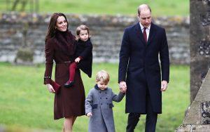 принц Джордж и принцеса Шарлът