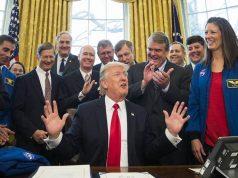 Тръмп, НАСА