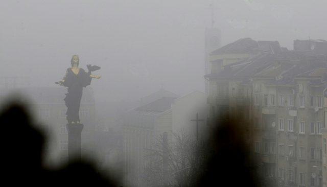 София, мръсен въздух