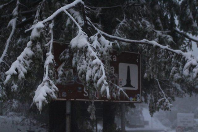 Шипка, сняг