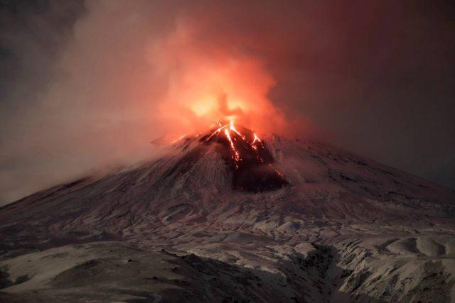 вулкан, Шувелуч