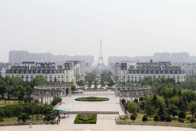 Париж в Китай
