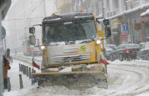 път, сняг