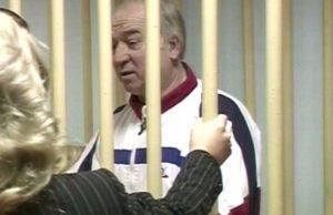 на снимката: бившия руски шпионин Сергей Скрипал