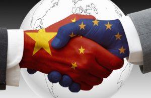 Китай, Европа