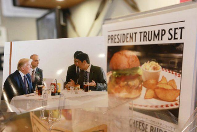 Президентът на САЩ Доналд Тръмп е намерил начин да яде бургери, докато е на диета. Това звучи като мечта на всеки чревоугодник, който като американски прези