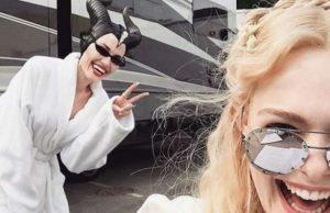 """""""Дисни"""" оповести началото на снимките за филма """"Господарка на злото 2"""", в който зрителите отново ще видят актрисите Анджелина Джоли и Ел Фан"""