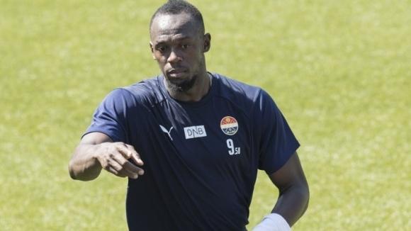 Световният рекордьор в бягането на 100 и 200 метра Юсеин Болт тренира с норвежкия първодивизионен клуб Стрьомсгодсет. 31-годишният ямаец