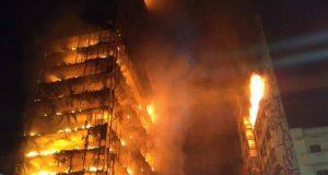 пожар в Бразилия
