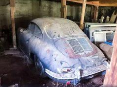Рядко Porsche 356B Super 90 Coupe от шейсетте години на миналия век бе открито да гние в плевня в САЩ. Купето, произведено през 1962 г., б