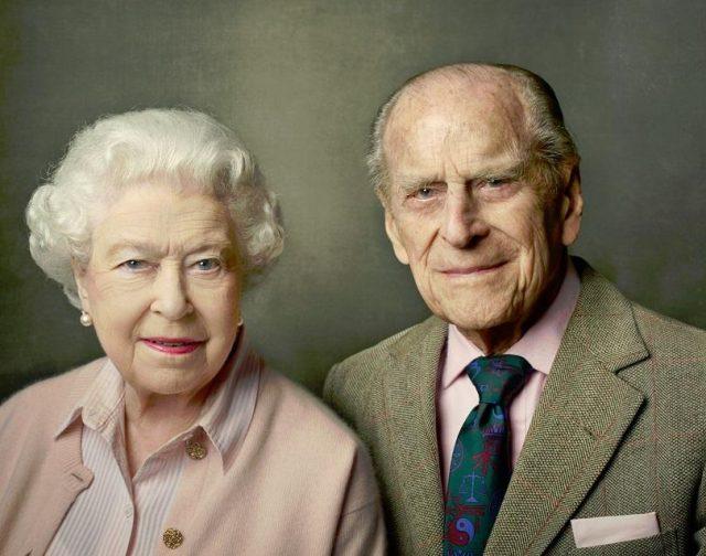 Принц Филип и кралица Елизабет II