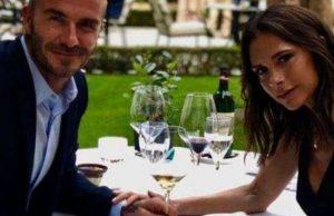 Дейвид Бекъм се обясни отново в любов на съпругата си Виктория с романтичен обяд в Париж по случай 19-годишнината от