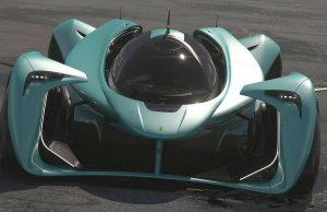 Дизайнер на италианската марка Ferrari показа идеята си за хиперкара на бъдещето. Феновете на премиум бранда побързаха да с