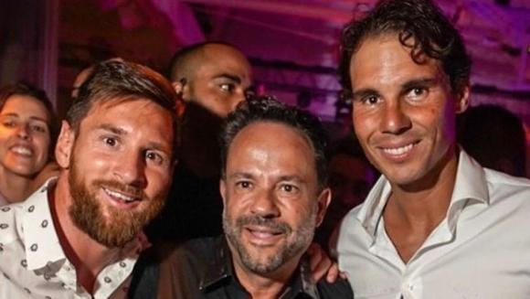 Лидерът на Аржентина и Барселона Лионел Меси продължава ваканцията си на балеарския остров Ибиса. Техничарят си почива в