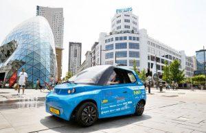 Студенти от Техническия университет в Айндховен, Холандия, показаха прототип на биоразградим електрически автомобил. Панелите, шасито и детайлите в и