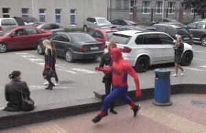 Човекът-паяк