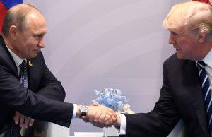 Доналд Тръмп, Владимир Путин
