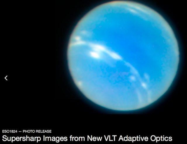VLT, Нептун