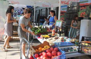 Фермерски пазар, домати
