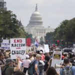 протест, САЩ, Доналд Тръмп