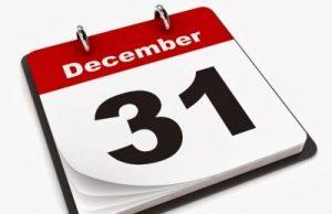 31 декември