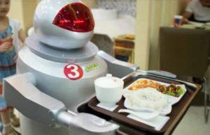 Robots restaurant