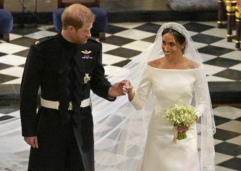 Меган Маркъл, принц Хари, сватба