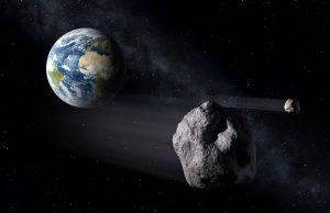 Астероида, Земя
