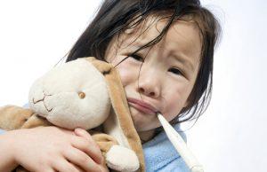 дете настинка