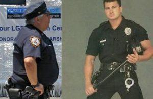 полицай затлъстяване