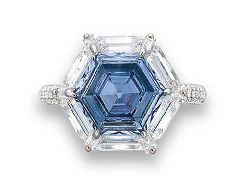 Син диамант