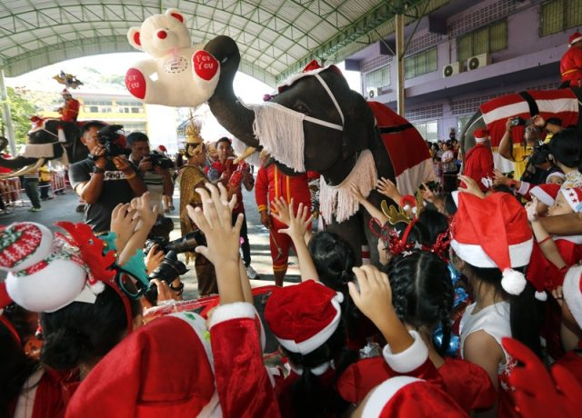 слон, Дядо Коледа