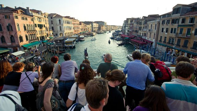 Венеция, туристи