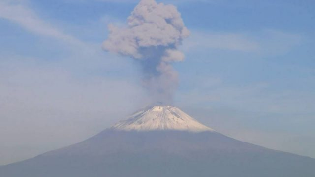 Попокатепетъл, вулкан