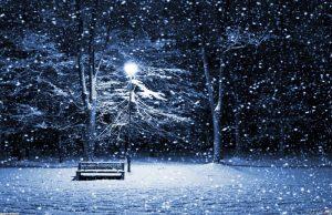 вятър, сняг