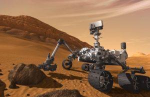 Кюриосити, роувър, Марс