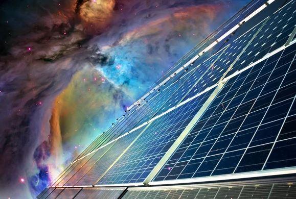 космос, електроцентрала