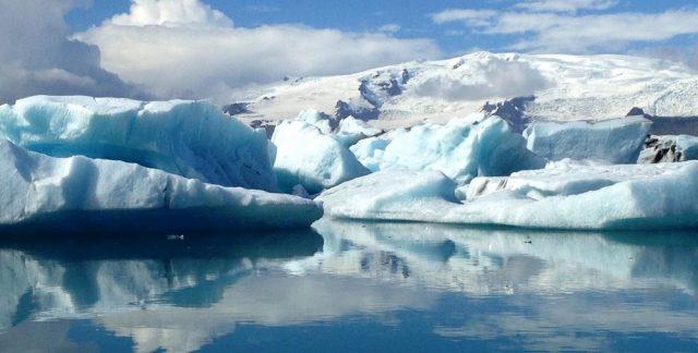 айсберг, ледник