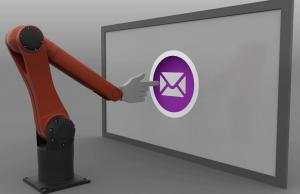 робот, имейл