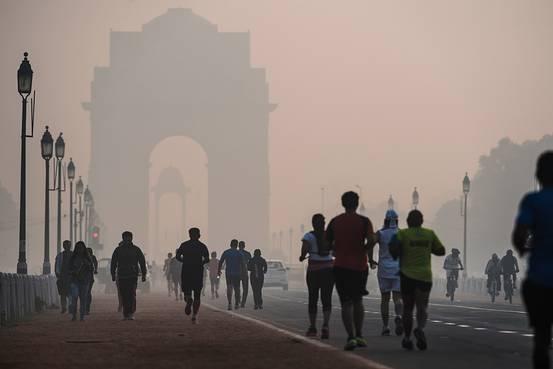 Ню Делхи, въздух