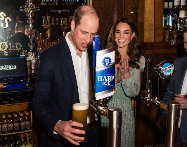 принц Уилям, бира