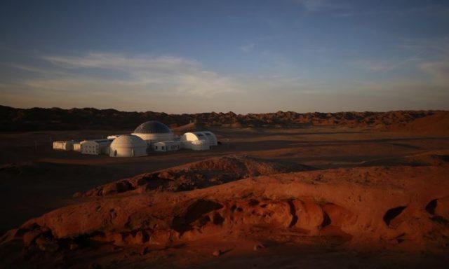 Марс, база, Гоби