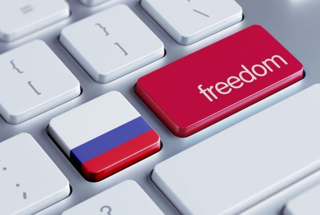 Русия, интернет