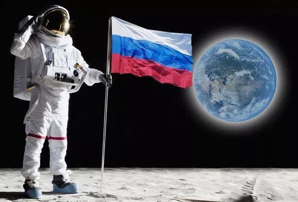 Русия, лунна база