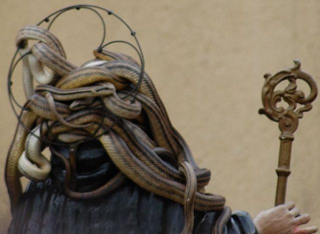 фестивал, змии
