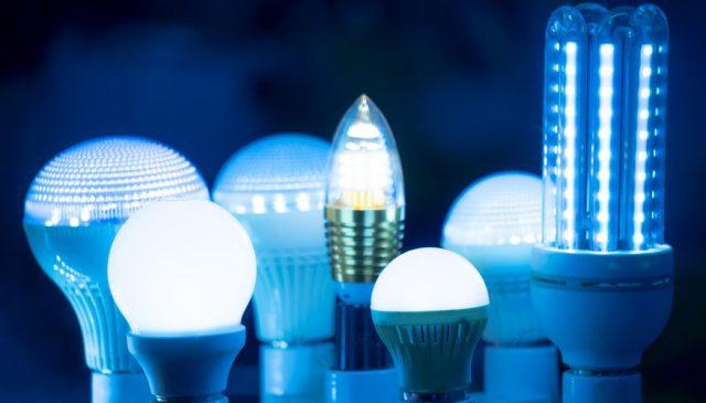 LED осветление, синя светлина