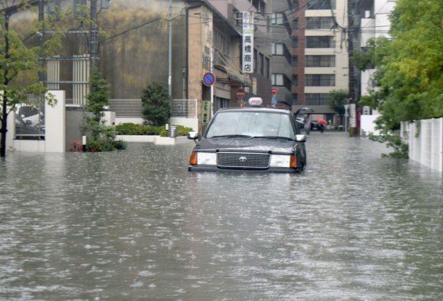 Евакуираха 850 000 души В Япония